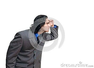 Businessman isolated-3