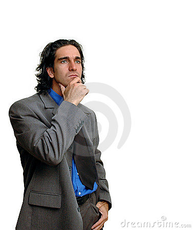 Businessman isolated-4