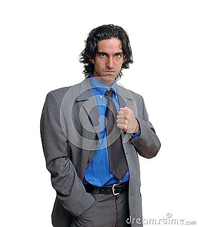 Businessman isolated-6