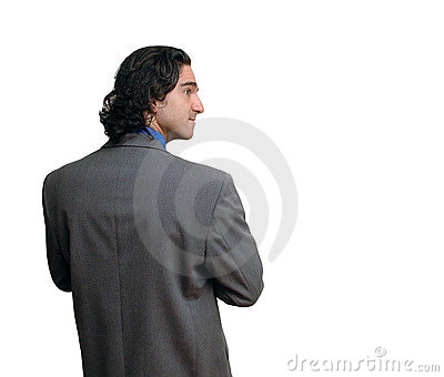 Businessman isolated-8