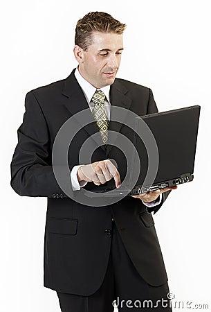 Businessman laptop 2