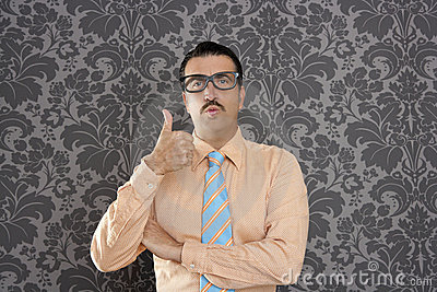 businessman ok positive hand gesture