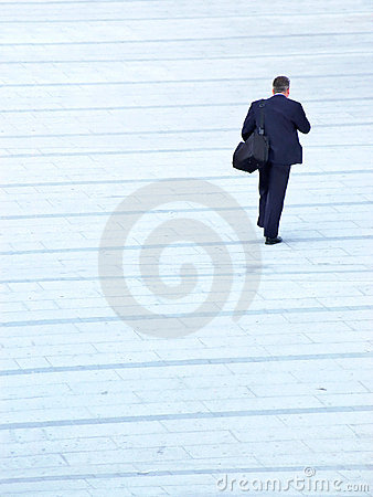 Businessman passerby