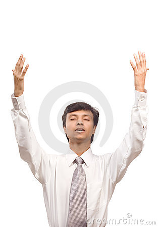 Businessman Praying For Help Stock Photos - Image: 7861523