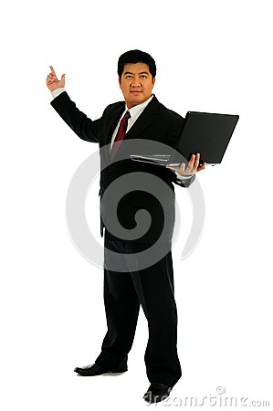 Free Businessman Recommend Stock Photos - 26810213