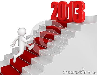 Businessman run up to 2013