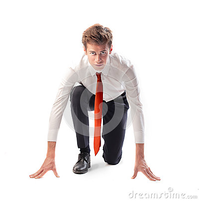 Businessman Runner