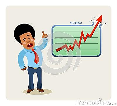 Businessman s presentation