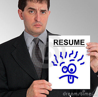 Free Businessman Side Presentation (Resume - Silly Face) Stock Photo - 541530