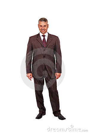 Businessman stand