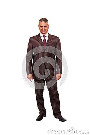 Businessman stand