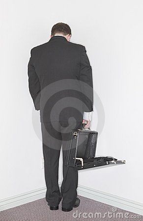 Free Businessman Stands In The Corn Stock Photo - 1795970