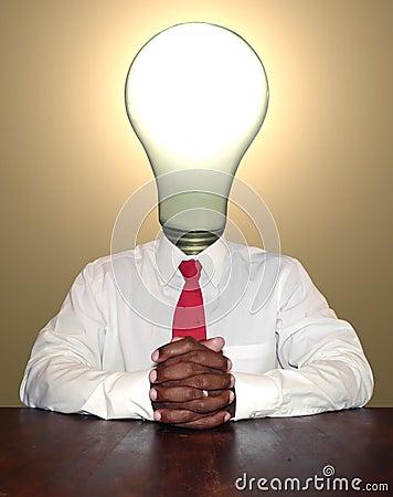 Businessman - thinker