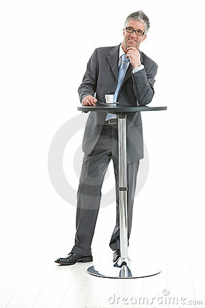 Free Businessman Thinking Royalty Free Stock Photo - 11413205