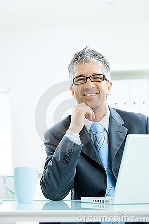 Free Businessman Thinking Stock Photo - 9935870