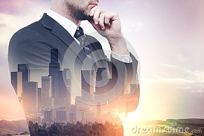 Research and occupation Stock Photo