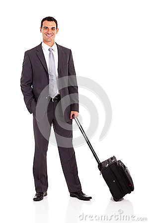 Businessman trolley bag