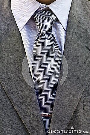 Businessman Undressing