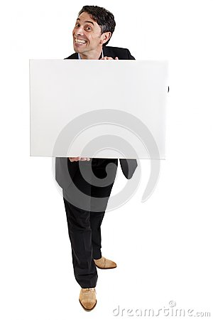 Free Businessman With A Cheesy Grin Stock Photography - 33626072