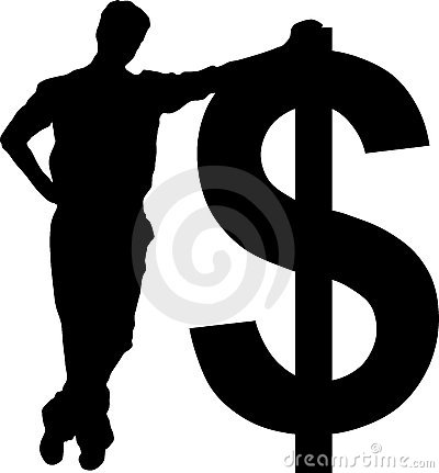 Free Businessman With Dollar Sign Royalty Free Stock Photos - 4780148