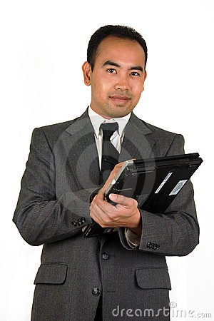 Free Businessman With Tablet PC 2 Royalty Free Stock Images - 560909