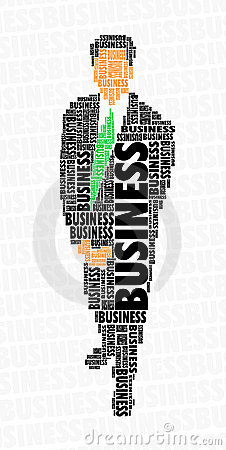 Businessman word cloud - business