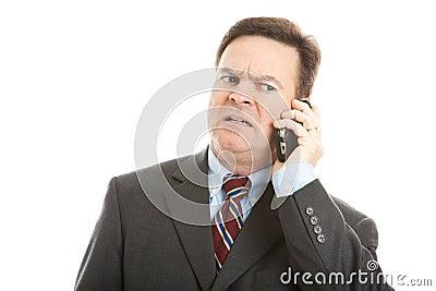 Businessman - Worried Face