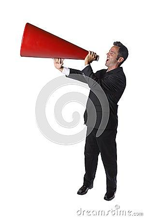 Free Businessman Yelling Stock Photos - 3251213
