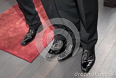 Businessmans shoes