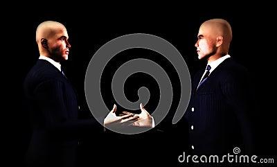 Businessmen Handshake 6