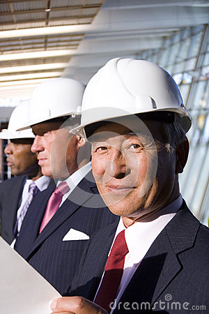 Free Businessmen Inspecting Construction Site Stock Photo - 41711750