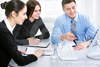 Businesspeople Stock Images - Image: 19938814