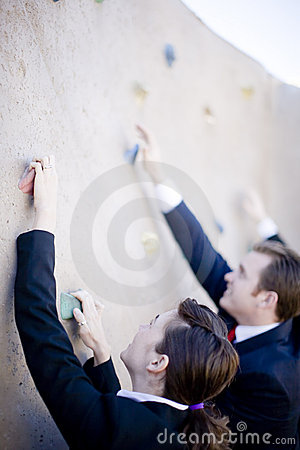 Free Businesspeople Climb Stock Photos - 5185303