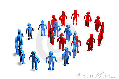 Businesspeople Cooperation