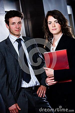 Businesspeople - corporate portrait