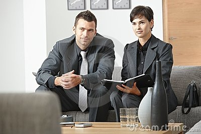 Businesspeople meeting at office