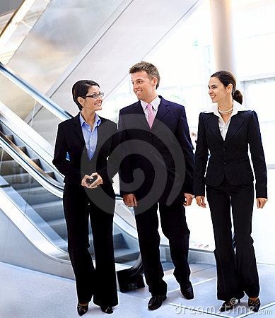 Free Businesspeople Talking Stock Images - 6268004