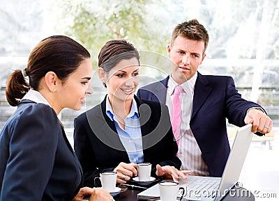Businessteam