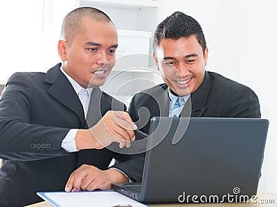Businessteam discussion