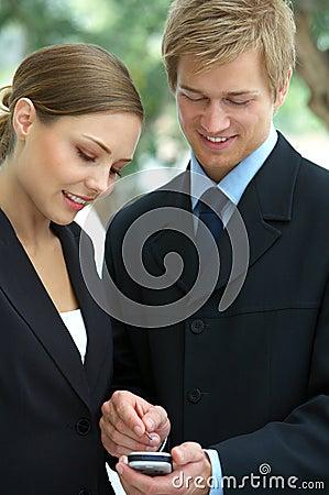 Businessteam planning