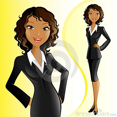 Businesswoman (African)