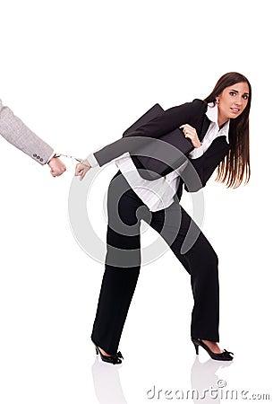 Businesswoman arrested