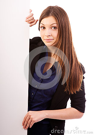 Businesswoman  billboard poster