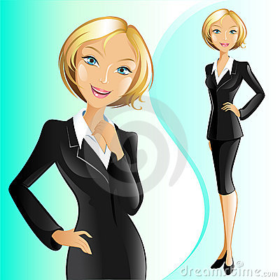Businesswoman (Blonde)