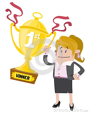 Businesswoman Buddy wins