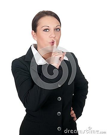 Businesswoman calls for calm