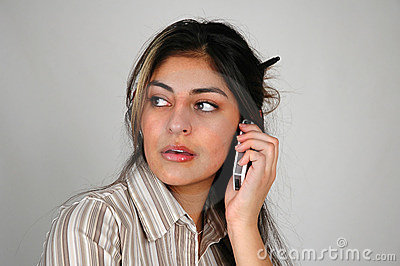 Businesswoman on the cellphone-8