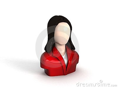 Businesswoman character