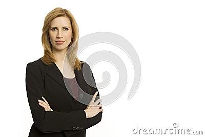 Businesswoman confidence