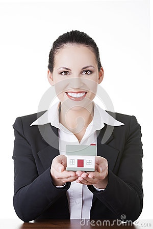 Real estate loan or insurance concept